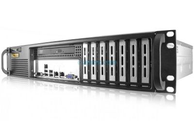 2U Short-Depth Server - Xeon E - Front I/O-front