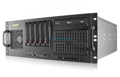 thumbnail-4U Rack Server - Intel 10th Gen - 5 Hot-swap Bays
