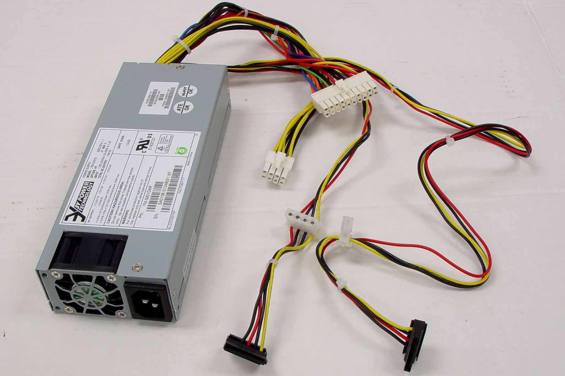 200W 1U Power Supply (202-1H)-1