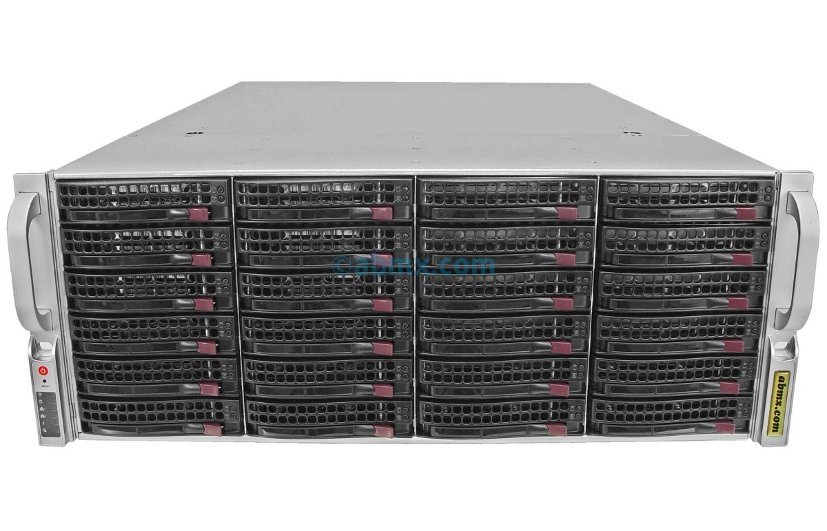 JBOD Storage Expansion - SAS3 12Gbps Backplane (Up to 792TB)-2