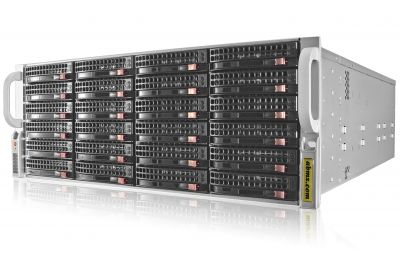JBOD Storage Expansion - High Availability Multipath (MPIO) - SAS3 12Gbps Backplane (Up to 616TB)-front